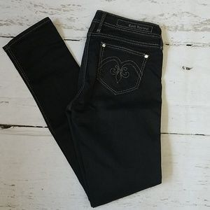 Rock Revival Black Carla Stretch Jeggings